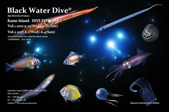 2017年Black Water Dive 久米島 スケジュール