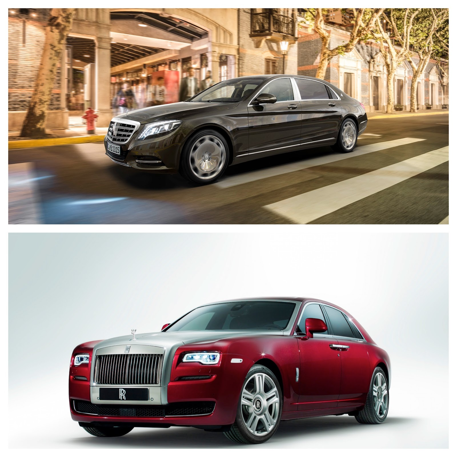 Mercedes-Maybach S600 vs Rolls Royce Ghost II