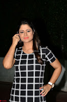 Shilpa Chakravarthy in Dark blue short tight dress At Srivalli Movie Pre Release Event ~  Exclusive Celebrities Galleries 020.JPG