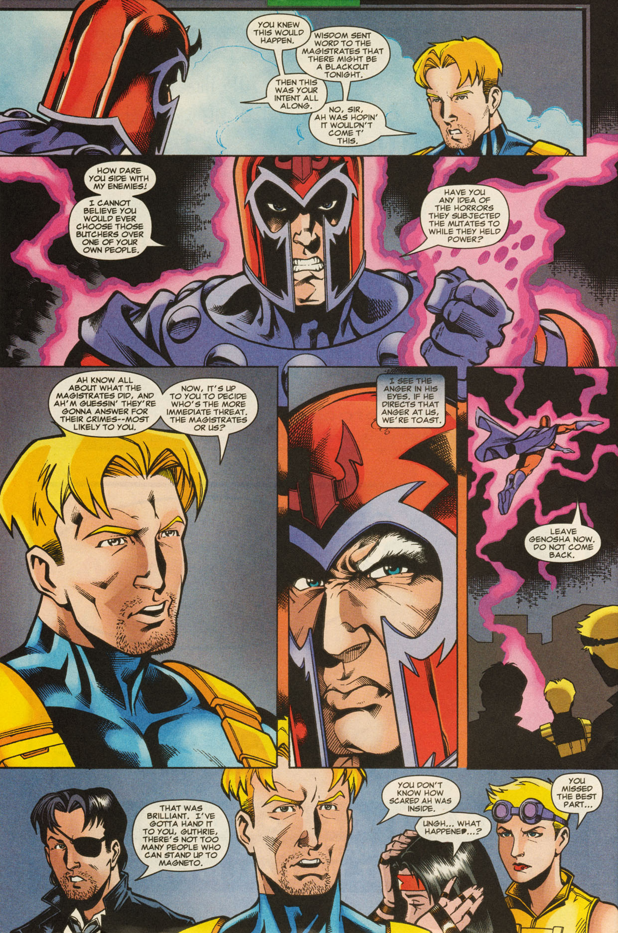Read online X-Force (1991) comic -  Issue #95 - 27