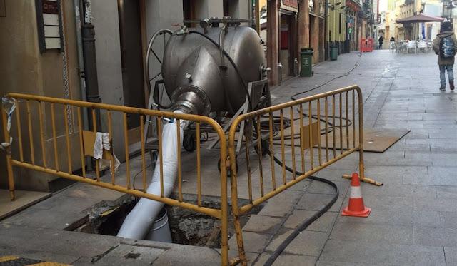 reparación tuberías manga Valencia