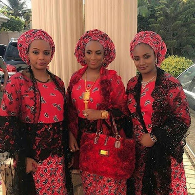 New photos of late Musa Yar'adua's daughters, all married to former state governors