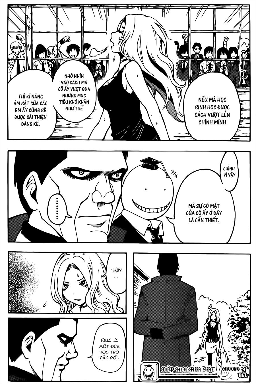 Ansatsu Kyoushitsu chap 27 trang 19