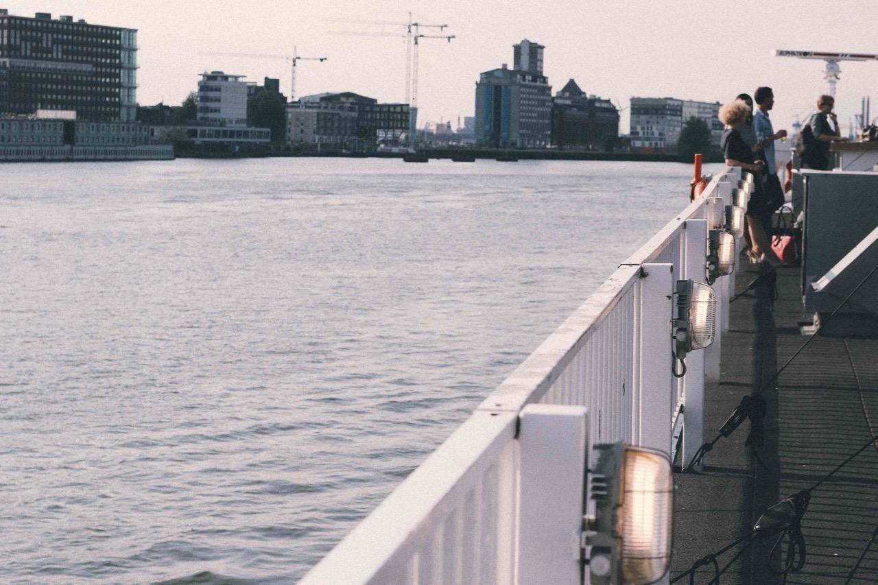 sailing at Google Street View Summit 2016 Amsterdam