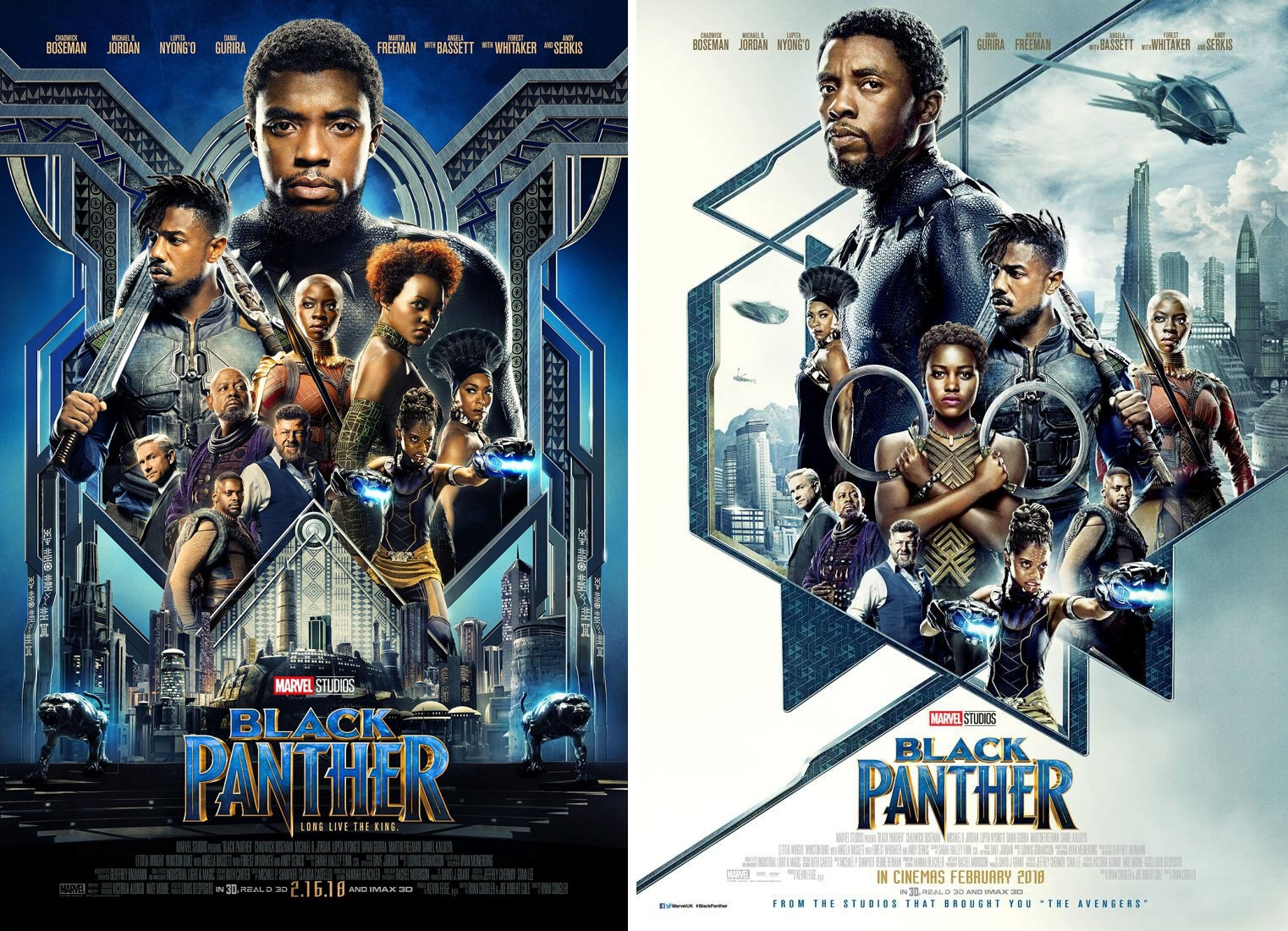 The Blot Says Marvel S Black Panther Final Movie Posters