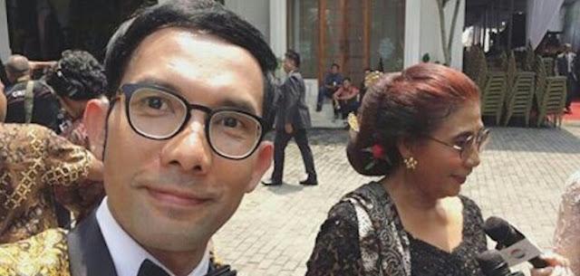 Gegara Usil Di Pernikahan Putri Jokowi, Indra Herlambang Kena Tabok