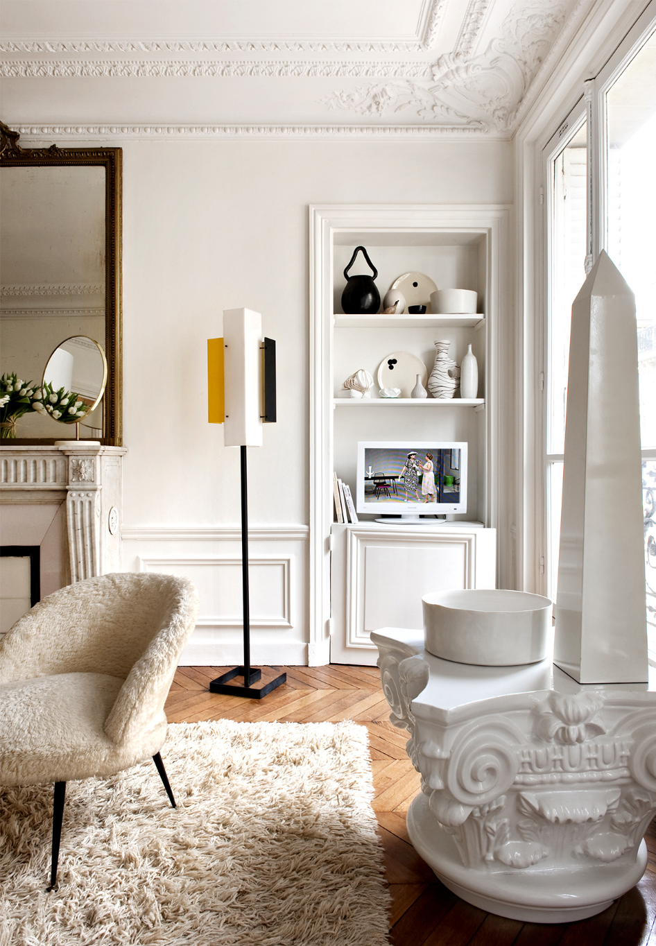 interiors: emilie bonaventure's apartment in paris