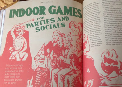 page describing indoor games for parties