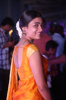 Shalini Pandey in Beautiful Orange Saree Sleeveless Blouse Choli ~  Exclusive Celebrities Galleries 018.JPG