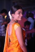 Shalini Pandey in Beautiful Orange Saree Sleeveless Blouse Choli ~  Exclusive Celebrities Galleries 018.JPG