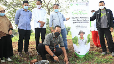 Tangerang MANTAP, Dinas Pertanian (DPKP) Kabupaten Tangerang Luncurkan Program Smartfarm Academy : Eduwisata Agribisnis
