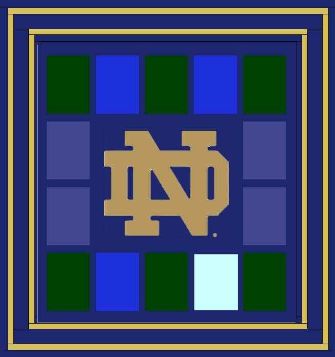 Buttons And Butterflies Notre Dame Michigan Game Day T