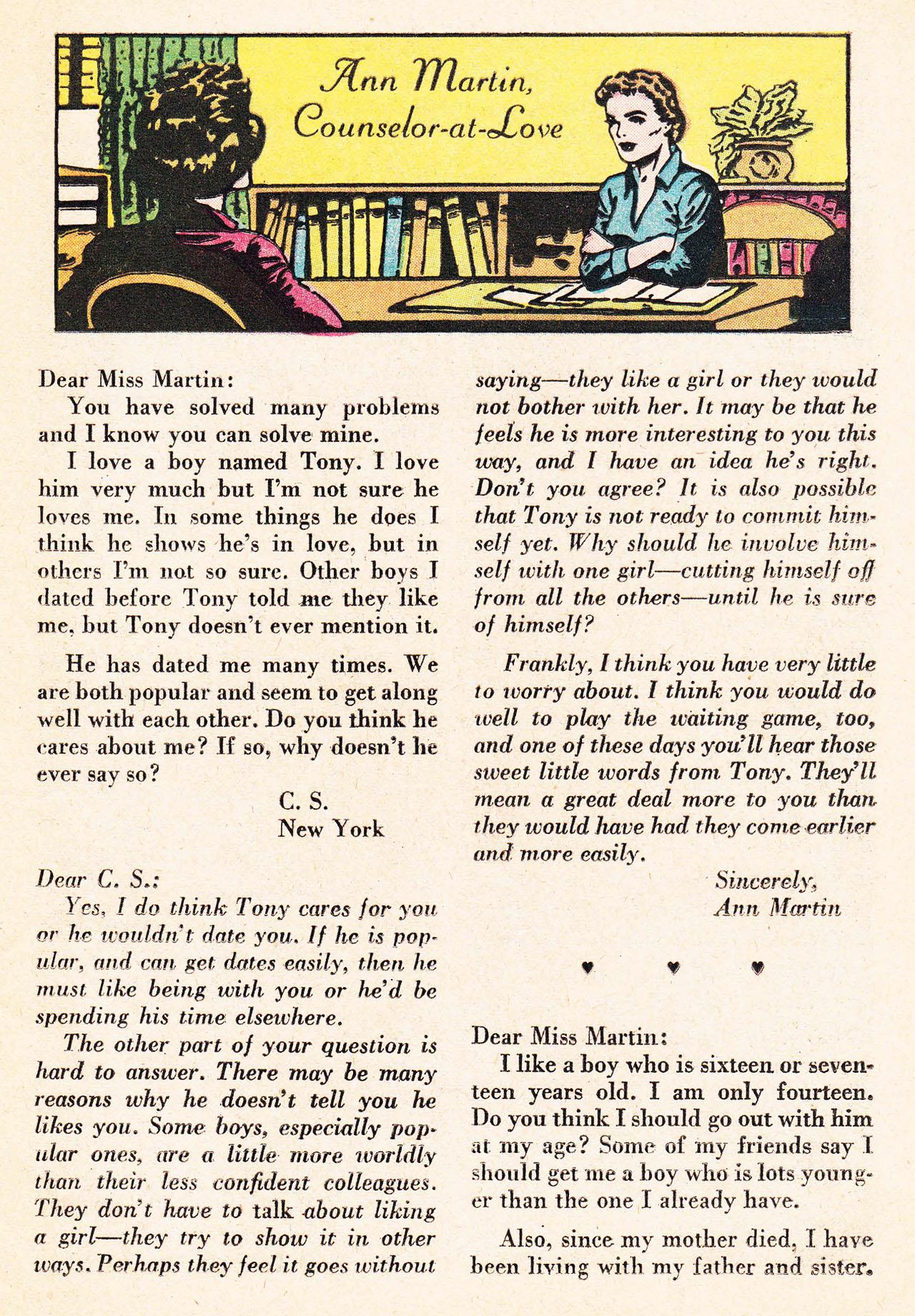 Read online Secret Hearts comic -  Issue #75 - 25
