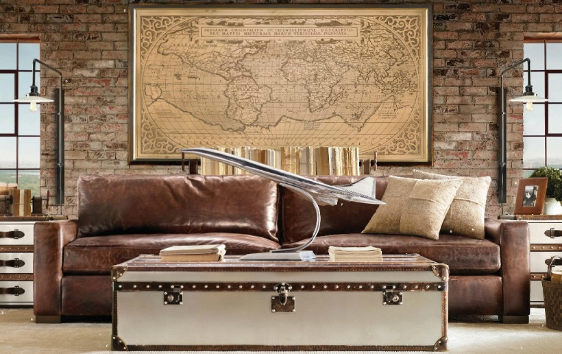 Aviation Decor for Aviation Themed Room via interiorsbykenz & Aviation Themed Interior Design | Nautical Handcrafted Decor Blog