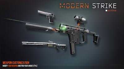 Tampilan Game Modern Strike Online
