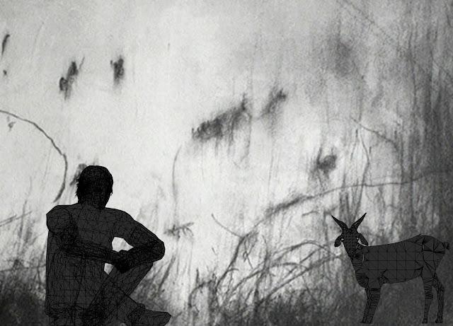 l'oeil du loup, dessin afrique grise, Kristelle Paré