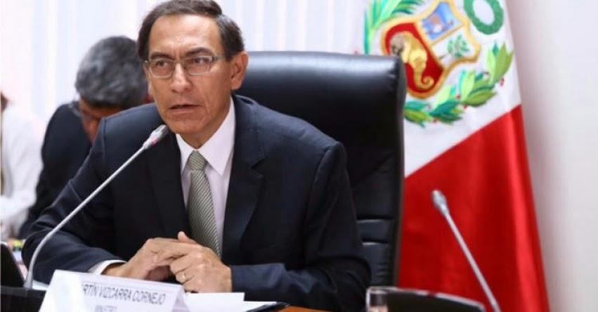Congreso de la República aprobó interpelar a Martín Vizcarra