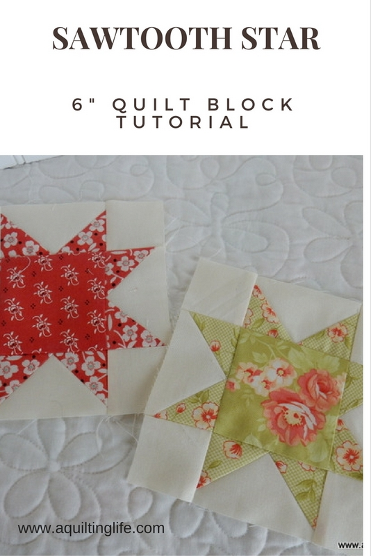 http://www.aquiltinglife.com/2015/06/summer-patchwork-sampler-star-block.html
