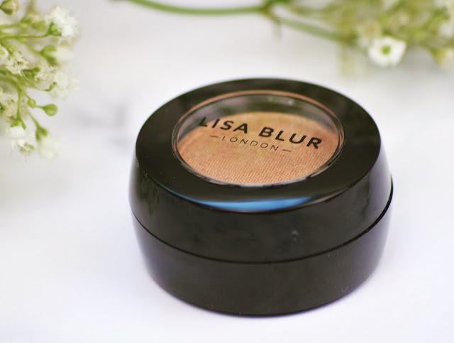 Lisa Blur London Makeup Review - Blusher, Primer and Eyeshadow