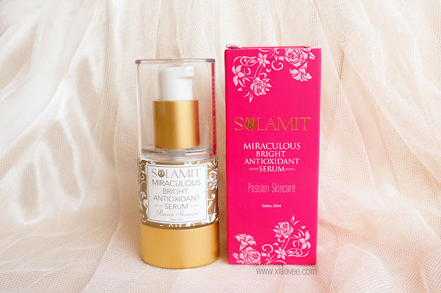 Sulamit Indonesia, Sulamit Miraculous Bright Serum Review, Review Serum Muka Sulamit, Sulamit Kosmetik Aman, BPOM Sulamit