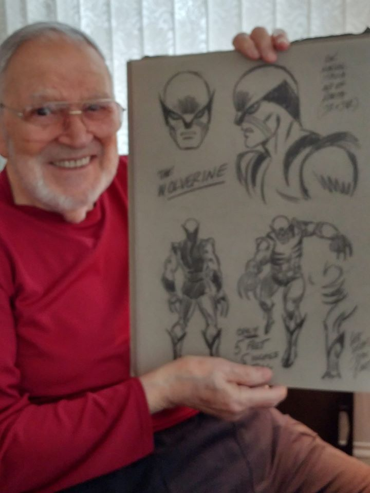 Hero envy the blog adventures len wein 1948 2017 the developer and writer of wolverine in his hulk story and in the first new x men story or two malvernweather Images
