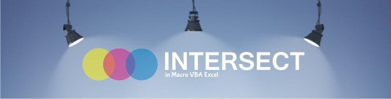 Belajar Intersect Excel