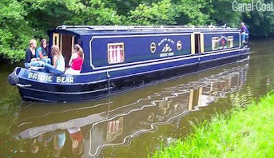 Canal boat, ছিপ নৌকা