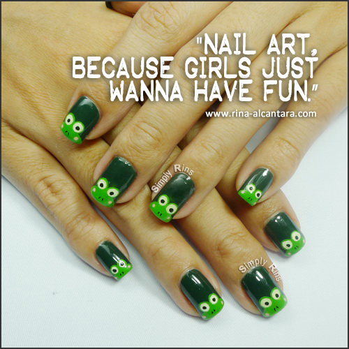 Nail Art Quote: I Came..I Saw... I Caved And Bought It: February 2013