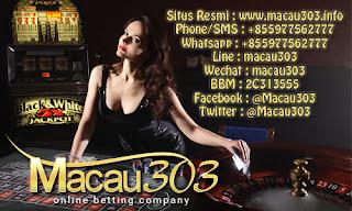 Freebet 100% Gratis Macau303