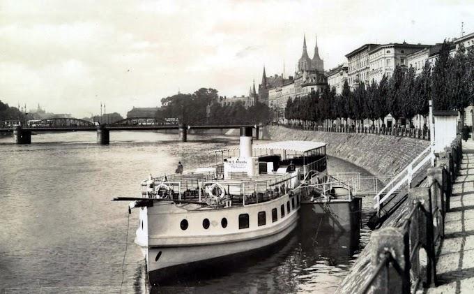 Z biegiem Odry | Przedwojenna biała flota