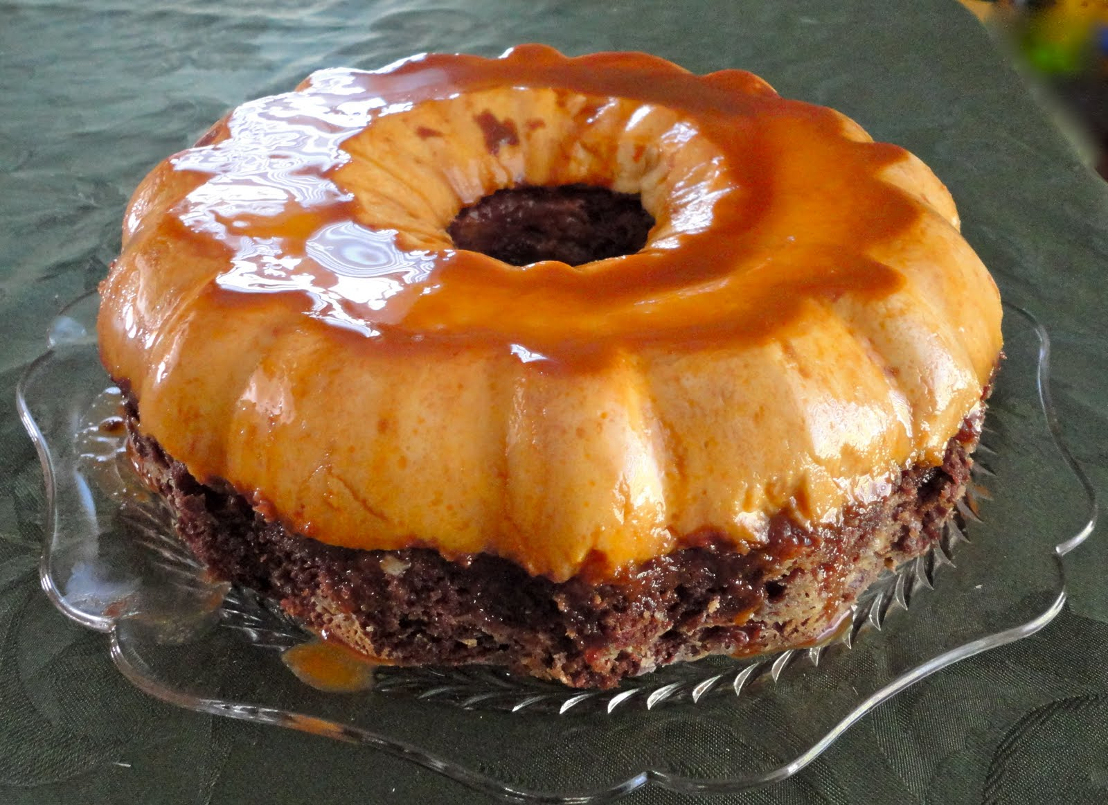 Cuisine With Chilean Flavor Chocoflan