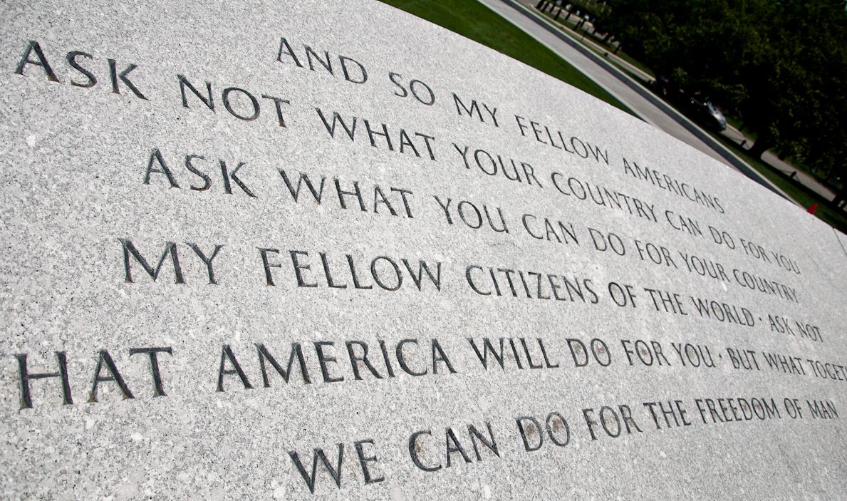 Rfk Grave Quotes: Visiting The War Memorials