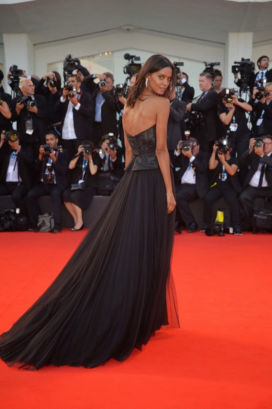 Liya Kebede on Red Carpet at Venice Film Festival