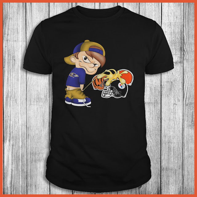 Baltimore Ravens Piss On The Browns, Steelers, Bengals Shirt