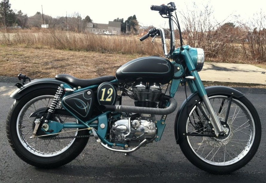 Royal Enfield Motorcycles: Royal Enfield bobber surprises ...