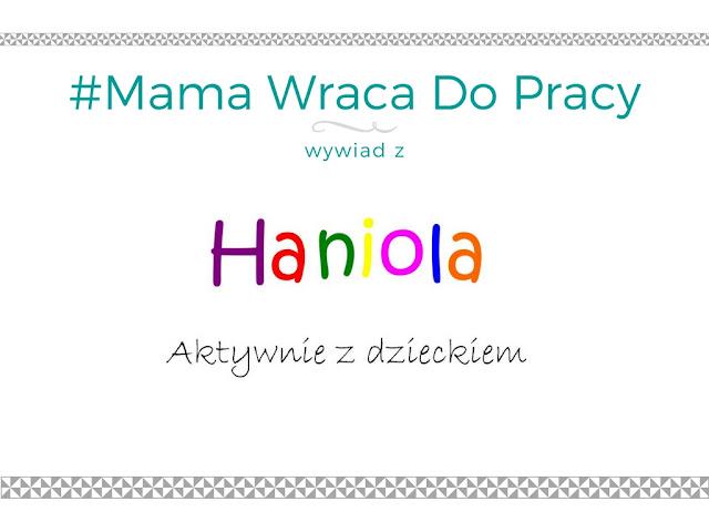 #10 Mama wraca do pracy - wywiad z blogerką Haniola