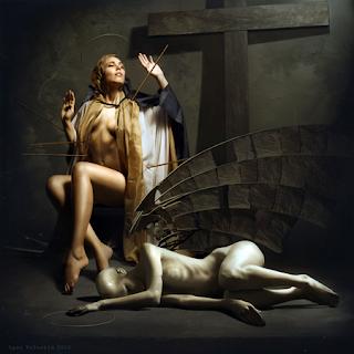 Estasi di santa Teresa d'Avila-Igor Voloshin.