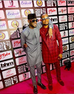 Lovely new photo of 2face and Faze together