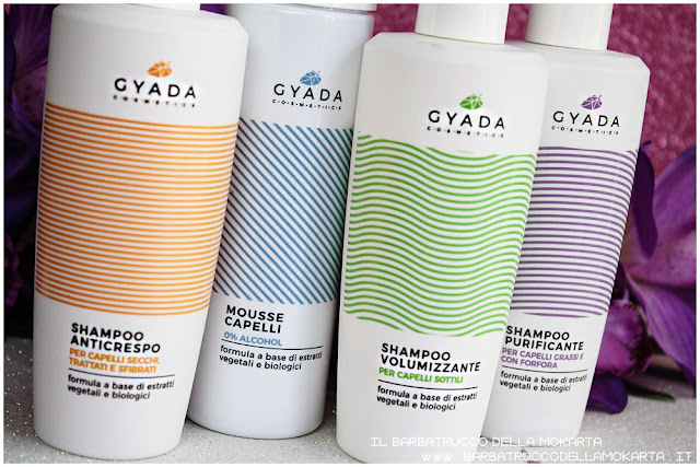 shampoo anticrespo purificante volumizzante mousse capelli   hair color vibes gyada cosmetics opinioni