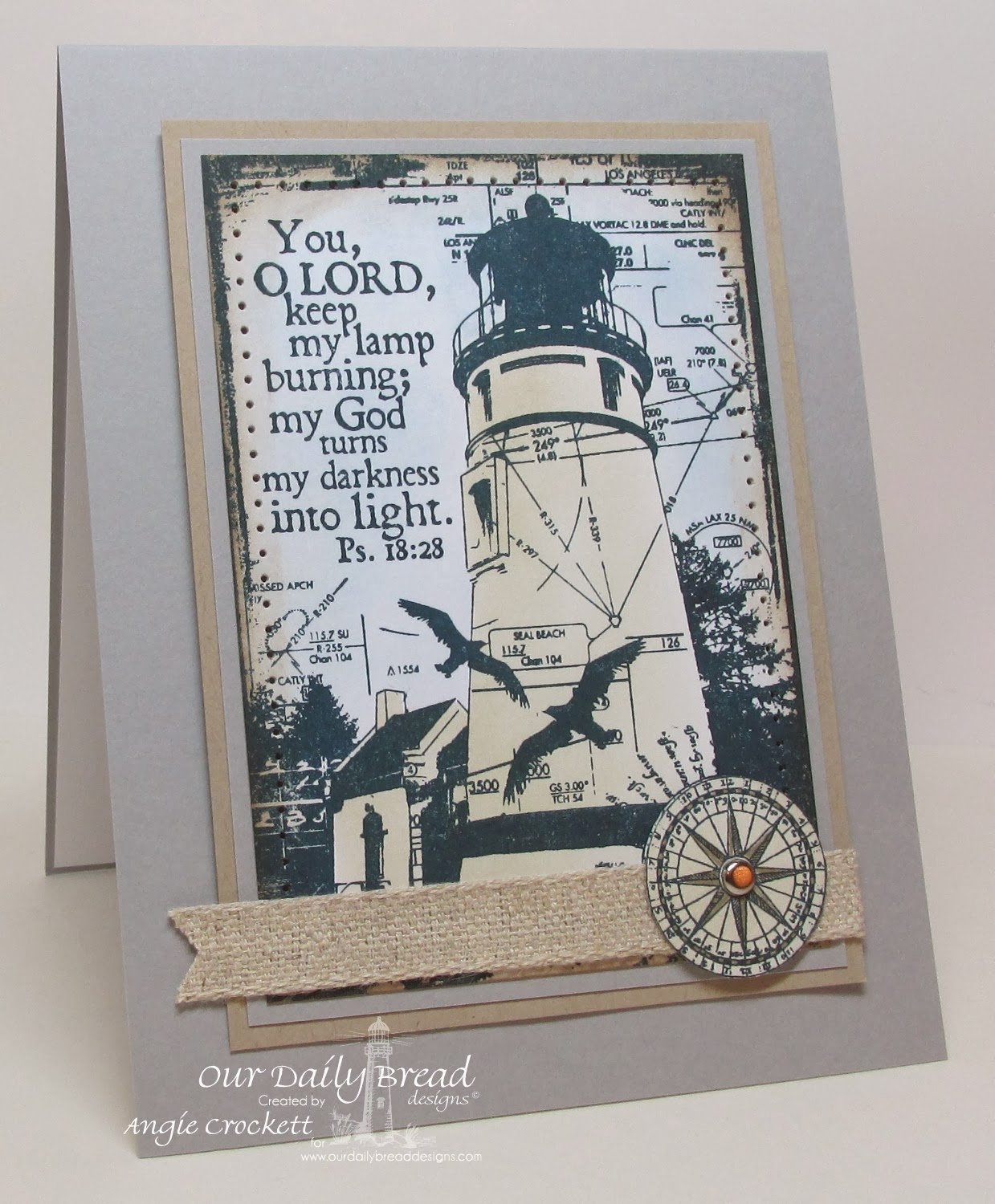 ODBD Keep My Lamp Burning, Card Designer Angie Crockett