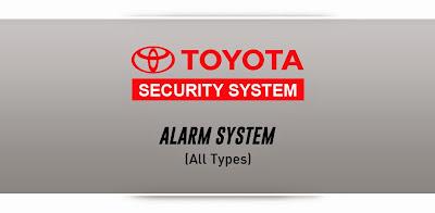 toyota rush alarm system