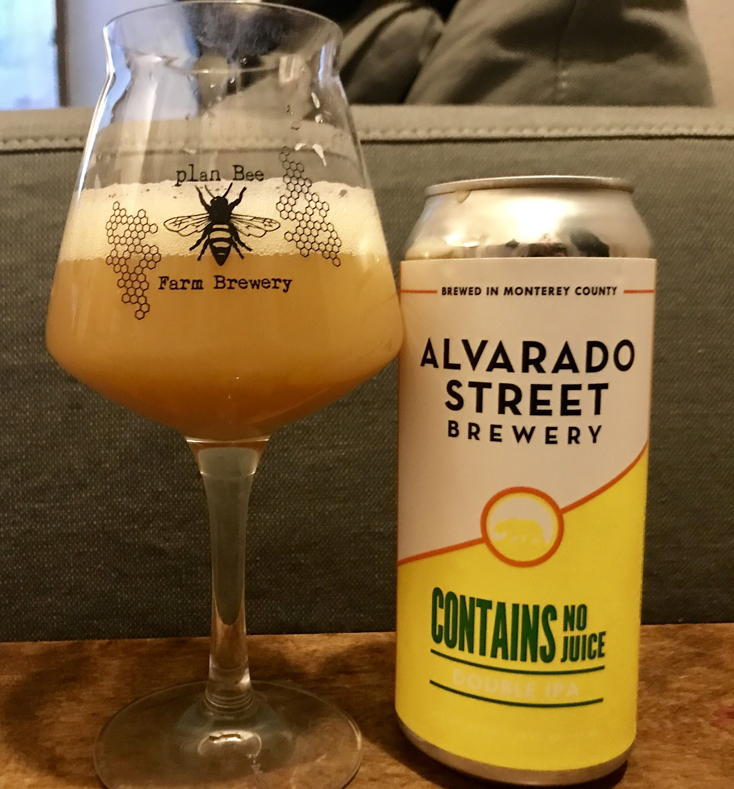 White apron ale - This Double India Pale Ale From Alvarado Street Brewery In California Pours A Thick Hazy Orange With A Big Fluffy White Head And Strong Aromas Of Orange
