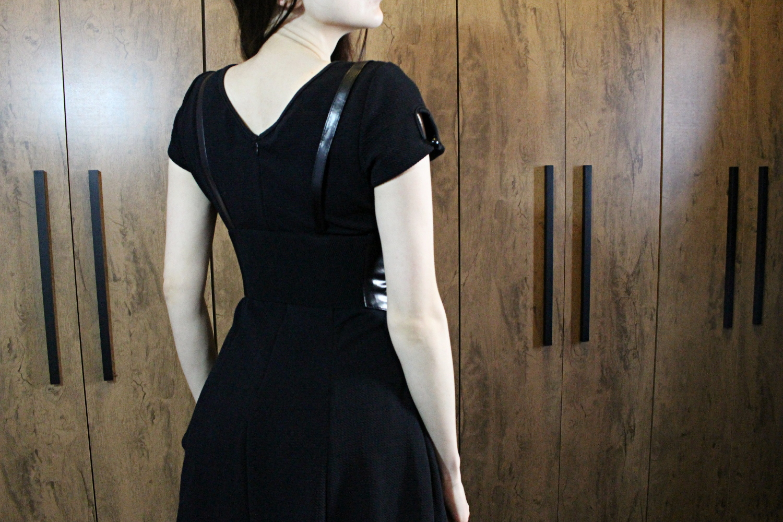 everyday grunge gothic dark outfit dress vintage fashion blogger