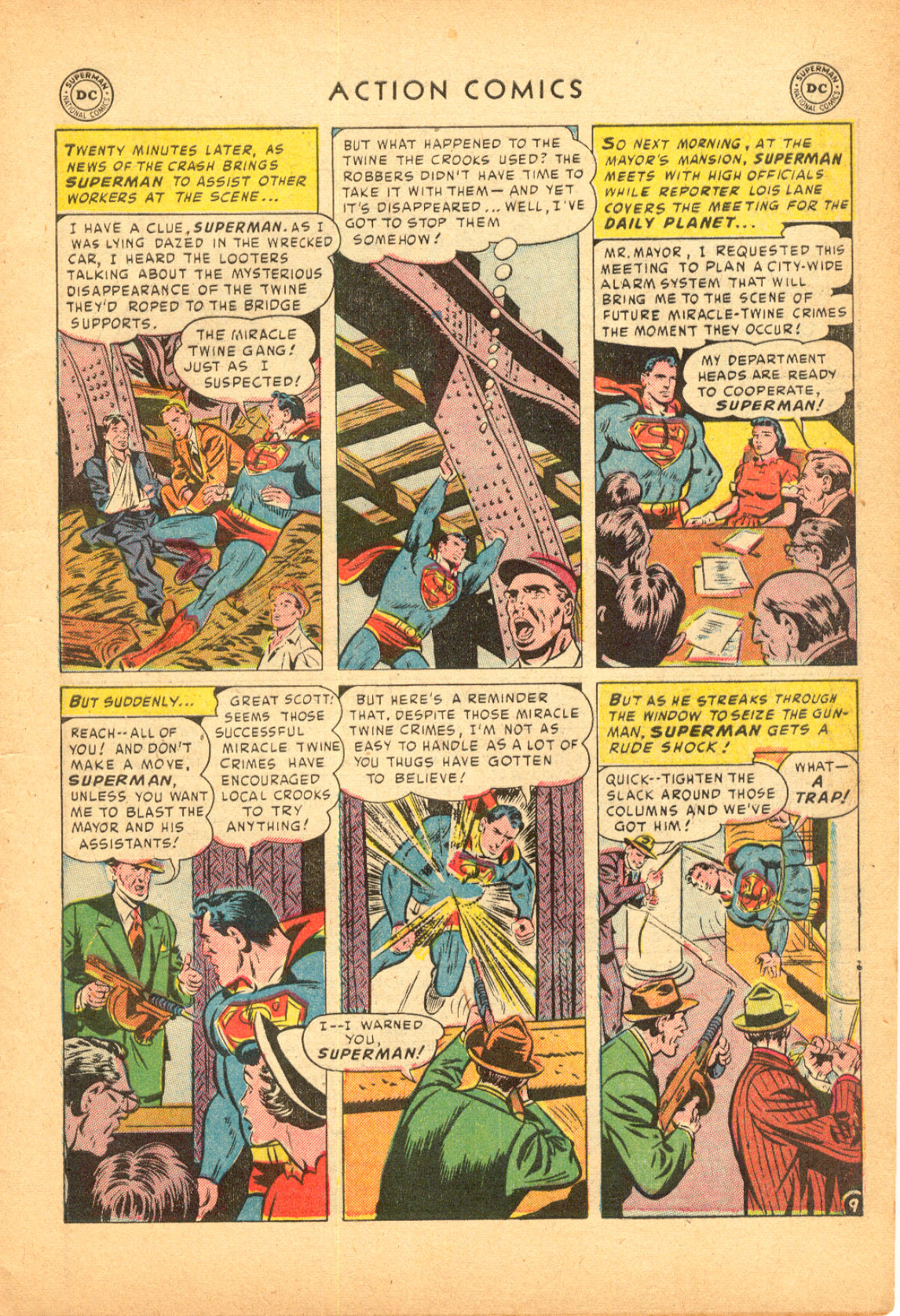 Read online Action Comics (1938) comic -  Issue #174 - 11