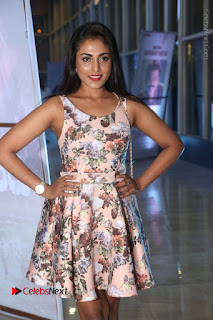 Actress Madhu Shalini Stills in Floral Short Dress at RGV Shiva to Vangaveeti Event  0133.JPG