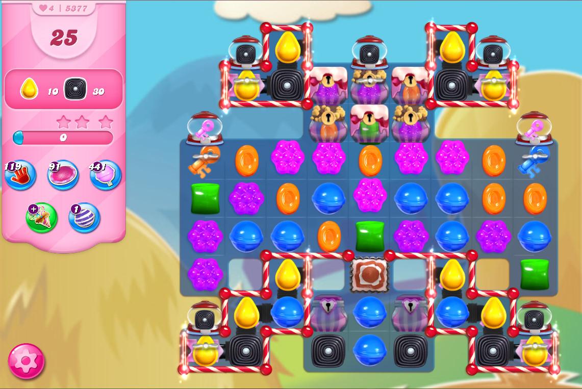 Candy Crush Saga level 5377