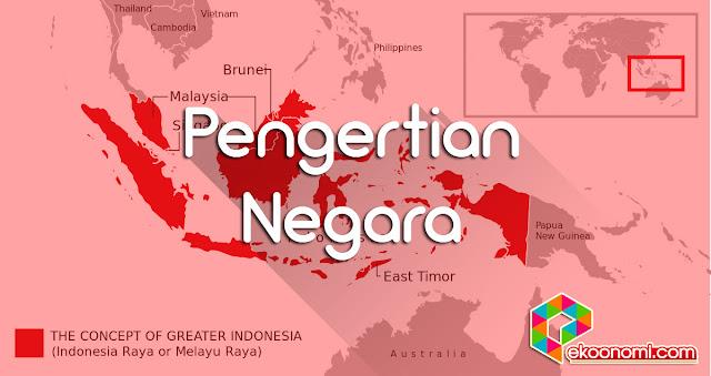 Pengertian Negara Karakteristik Negara
