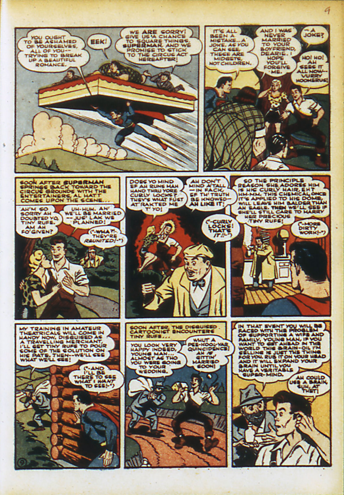 Read online Action Comics (1938) comic -  Issue #55 - 12