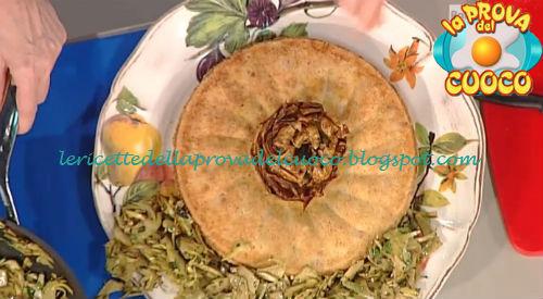 Sformato di semolino con carciofi ricetta Messeri da Prova del Cuoco