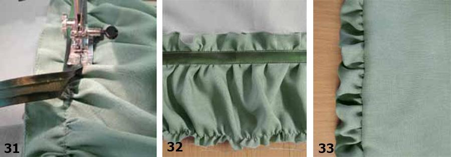 Декоративные элементы в швейных изделиях